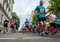 24to maratón de Nordea Riga Foto de archivo libre de regalías