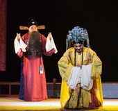 "To meet the parents-Mothering-Jiangxi opera ""Red pearl"" Royalty Free Stock Photo"