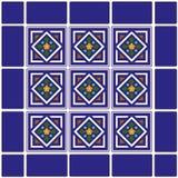 tło meksykanina płytki ceramiczne Fotografia Royalty Free