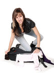 To much clothes Stock Photography