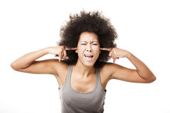 To much noise Royalty Free Stock Images