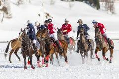 34to MUNDIAL del POLO de la NIEVE - St Moritz Imagenes de archivo