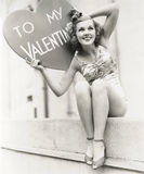 To My Valentine royalty free stock photography