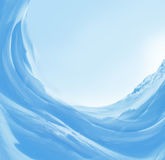 tło śnieg Obrazy Stock
