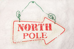 To The North Pole Stock Image
