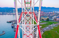 To overlook Batumi royalty free stock photography