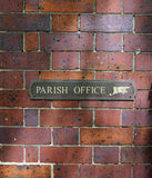 To the Parish office Royalty Free Stock Image
