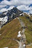 To the peak of Tatra mountains, Zakopane, Poland Stock Image