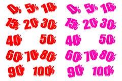 Percent Royalty Free Stock Photos