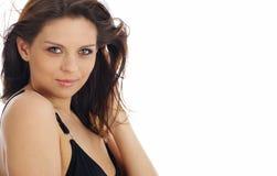 to piękny makijaż mody portret kobiety Fotografia Stock