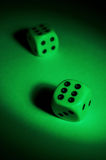 To play dice Royalty Free Stock Image