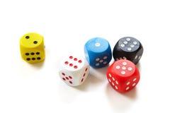 To play dice Stock Photos