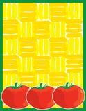 tło pomidor Zdjęcie Stock