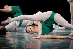 To practice hard-Dance basic training Stock Photo