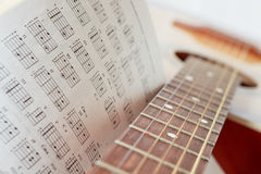To practise music Stock Photography