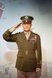 34to Presidente de los Estados Unidos de Dwight D Figura de cera de Eisenhower Foto de archivo