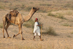 To the Pushkar Camel Fair Royalty Free Stock Photo