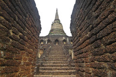 To the region of ancient civilization,Su Kho Thai,Thailand Royalty Free Stock Image
