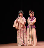 "To reveal the heart-Cui Yingying 's disease-Kunqu Opera ""the West Chamber"". In May 17, 2015, the Suzhou Kunqu opera classic Kunqu Opera Xixiangji staged in Royalty Free Stock Image"