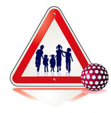 To save growing children. Sign Stock Images