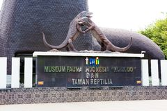 Indonesia. Jakarta. Park `Taman Mini` — the `Beautiful Indonesia in miniature`. stock photography
