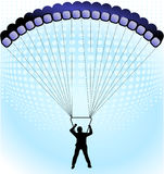 To skydive Royalty Free Stock Photos