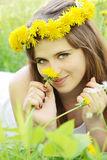 To Smell The Dandelion Stock Photos