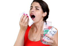About to Sneeze Stock Image