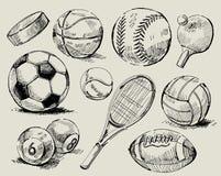 tło sport Obrazy Stock