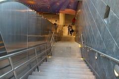 34to St - Hudson Yards Subway Station 25 Imagen de archivo libre de regalías