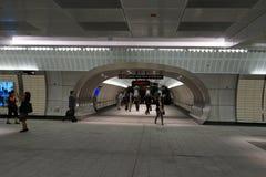 34to St - Hudson Yards Subway Station 34 Imagen de archivo libre de regalías