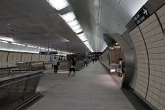34to St - Hudson Yards Subway Station 35 Imagen de archivo