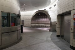 34to St - Hudson Yards Subway Station 38 Imagen de archivo libre de regalías