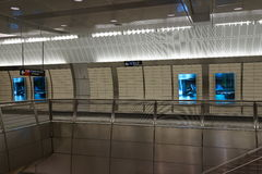 34to St - Hudson Yards Subway Station 63 Imagen de archivo libre de regalías