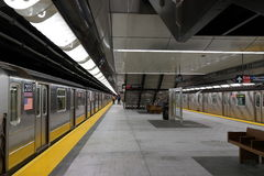 34to St - Hudson Yards Subway Station 83 Imagenes de archivo