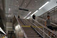 34to St - Hudson Yards Subway Station Part 2 7 Imagen de archivo libre de regalías