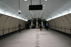 34to St - Hudson Yards Subway Station Part 2 11 Fotografía de archivo libre de regalías