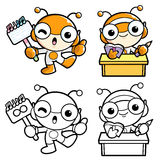 To study the insect characters Stock Photography