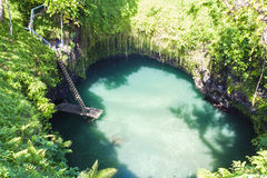 To Sua Ocean Trench Stock Photo