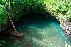 To Sua Trench Royalty Free Stock Image