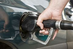 To tank up fuel Royalty Free Stock Photos