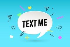 to tekst Papierowa bąbel chmury rozmowa i wiadomość tekst M ilustracja wektor