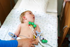 Free To The Kid Do The Cardiogramme Stock Photography - 14699512