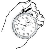 To time check Royalty Free Stock Photos