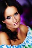 tło twarz piękna blured Zdjęcie Stock
