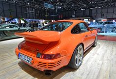 88th Geneva International Motor Show 2018 - Ruf SCR 4.2 stock photos