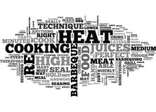When To Use High Heat On Your Barbeque Word Cloud. WHEN TO USE HIGH HEAT ON YOUR BARBEQUE TEXT WORD CLOUD CONCEPT vector illustration
