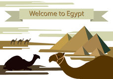 To Visit Egypt Royalty Free Stock Image