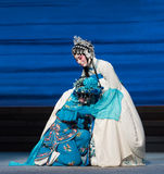 "To weep disconsolately-The seventh act Disintegration of families-Kunqu Opera""Madame White Snake"" Stock Image"