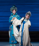 """To weep disconsolately-The seventh act Disintegration of families-Kunqu Opera""""Madame White Snake"""". Legend of the White Snake is one of the most famous tales Stock Image"""